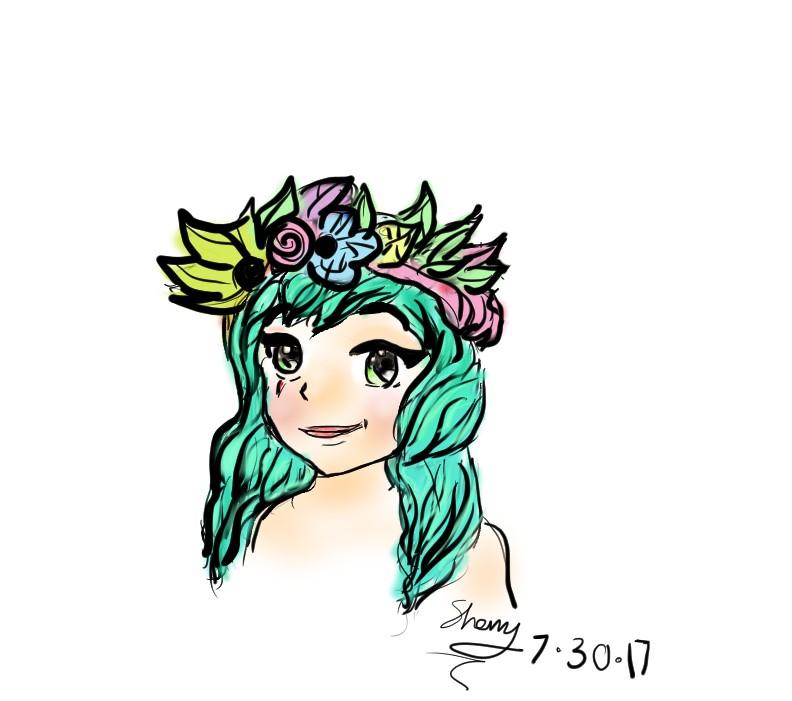 manga inspiration girl